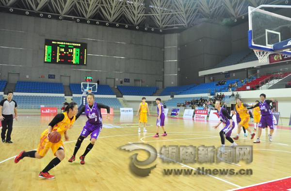 国女子篮球联赛预选赛江苏擒下上海